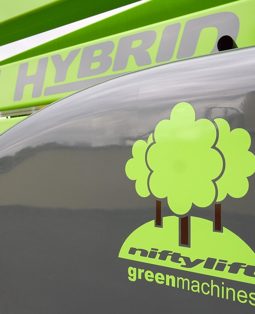 Niftylift HR17 HYBRID 4x4