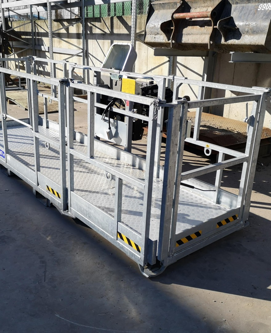 Werkkooi - 1000 kg